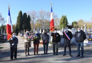 Commémoration 11 novembre 2020 Mairie Saint Papoul