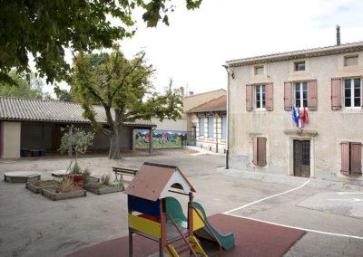 Vue école Saint-Papoul
